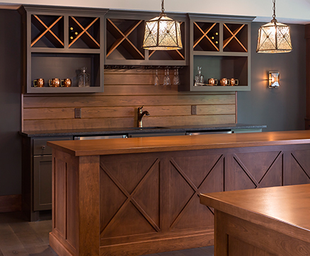 Attractive Bars U0026 Basements. Custom Home ...